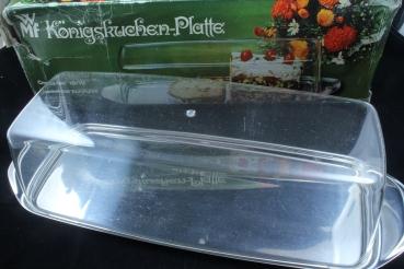 Königskuchenplatte Mit Haube